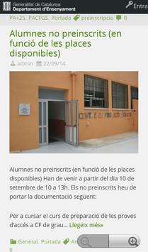 CFA El Vendrell apk screenshot