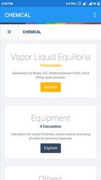 CHEMCALC: ENGINEERING CALCULATOR screenshot 3