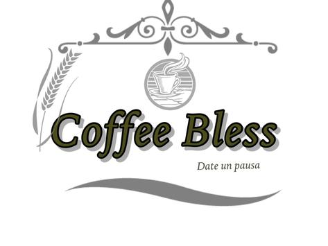 COFFEE BLESS poster