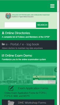 CPSP screenshot 1