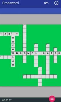 CROSSWORD PUZZLE MIND GAME screenshot 3