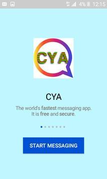 Whatschat App Messenger 2020 poster