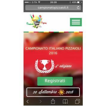Campionato Italiano Pizzaioli poster