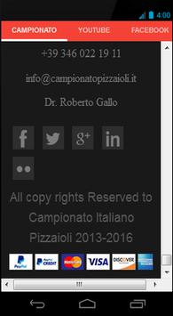 Campionato Italiano Pizzaioli screenshot 5