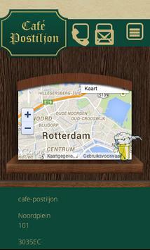 Cafe postiljon poster
