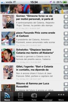 Calcio Catania screenshot 1