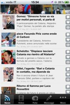 Calcio Catania تصوير الشاشة 1