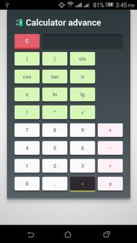 Calculator Advance poster