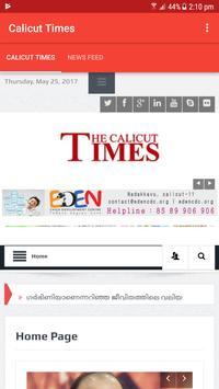 Calicut Times News poster