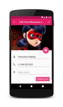 Call From Miraculous Ladybug screenshot 2