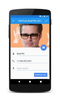 Call From Brad Pitt apk screenshot