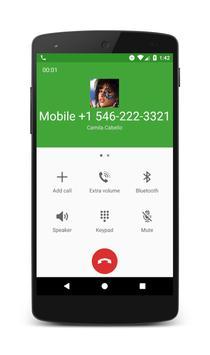 Call From Camila Cabello apk screenshot