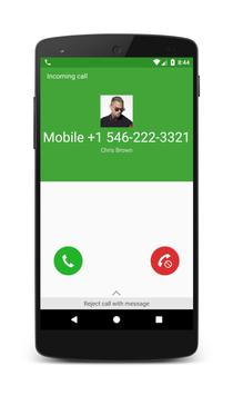 Call From Chris Brown poster