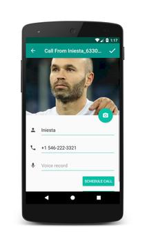 Call From Iniesta screenshot 2