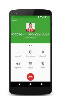 Call From James Rodriguez apk screenshot