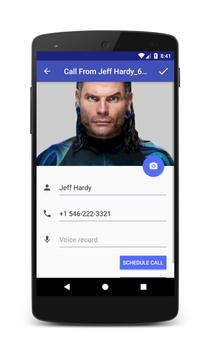Call From Jeff Hardy apk screenshot
