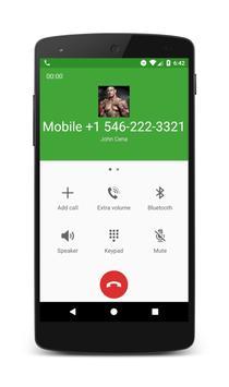 Call From John Cena apk screenshot
