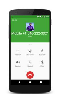 Call From Kaká apk screenshot