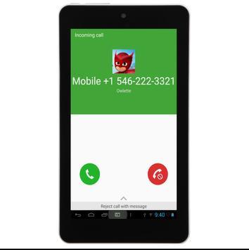 Call From Owlette apk screenshot