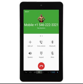 Call From Rey Mysterio apk screenshot