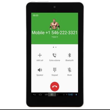 Call From Triple H apk screenshot