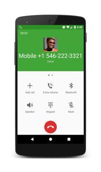 Call From Usher apk screenshot