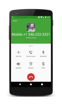 Call From Zinédine Zidane apk screenshot