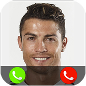Call from Cristiano Ronaldo icon