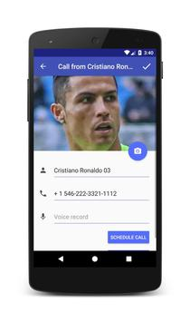 Call from Cristiano Ronaldo screenshot 3