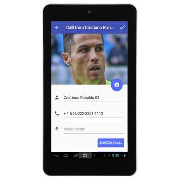 Call from Cristiano Ronaldo screenshot 8