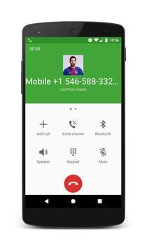 Call from messi screenshot 1
