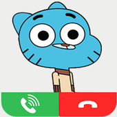 Gumball call me icon