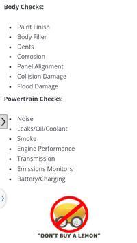 Car Inspection screenshot 1