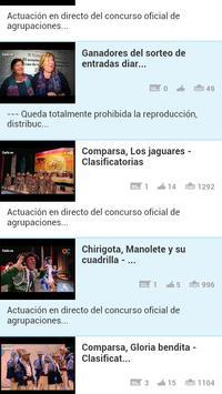 Carnaval 2014 apk screenshot