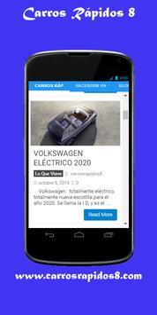 Carros Rapidos screenshot 1