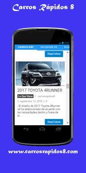 Carros Rapidos screenshot 2