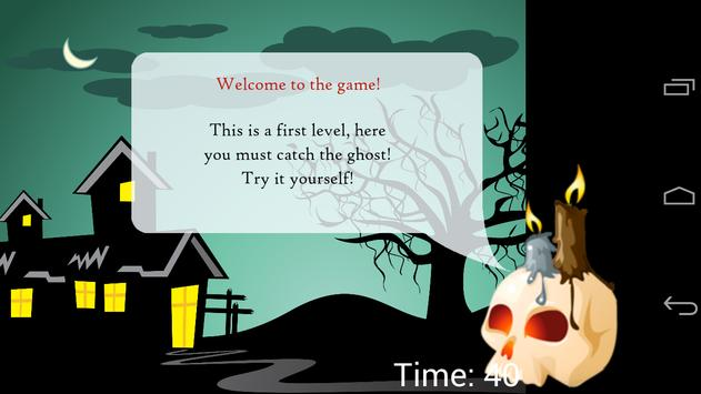 Catch Ghost Game: Free poster