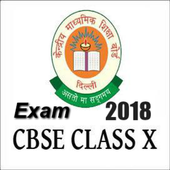 Cbse Exam 2018 For Class 10 icon