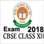 Cbse Exam 2018 For Class 12 icon