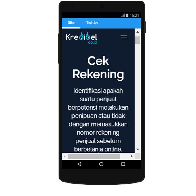 Cek Rekening Penipu Online 2019 Terpercaya For Android Apk Download