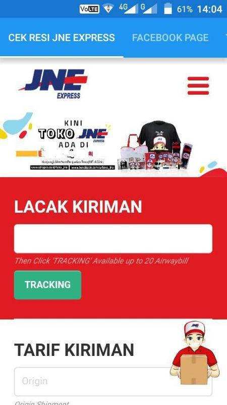 Cek Resi Jne Ekspres Apk Download Free Productivity App For Cek Resi Jne Ekspres Poster Reheart
