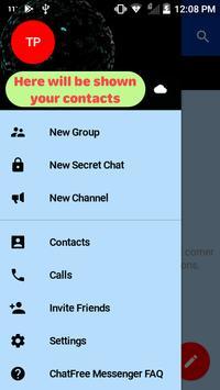 ChatFree Messenger apk screenshot