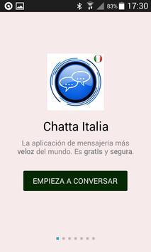 Chatta Italia poster