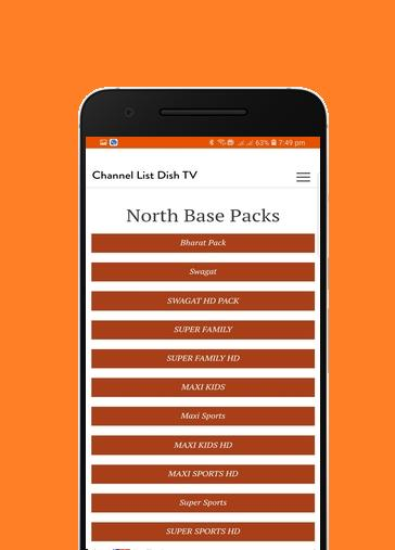 Channel List Dish Tv India for Android - APK Download