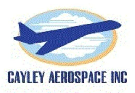 Cayley Aerospace Inc poster