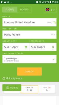 Cheap Flights and Hotels screenshot 1