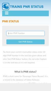 Check PNR Status poster