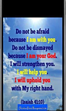 Christian Encouragement poster
