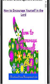 Christian Encouragement screenshot 2