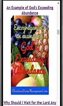 Christian Encouragement screenshot 3